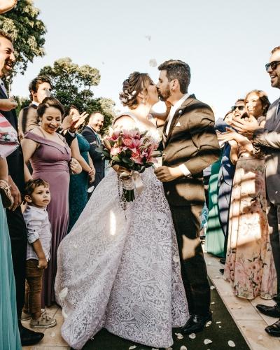 Iedereen in stijl op jou bruiloft.