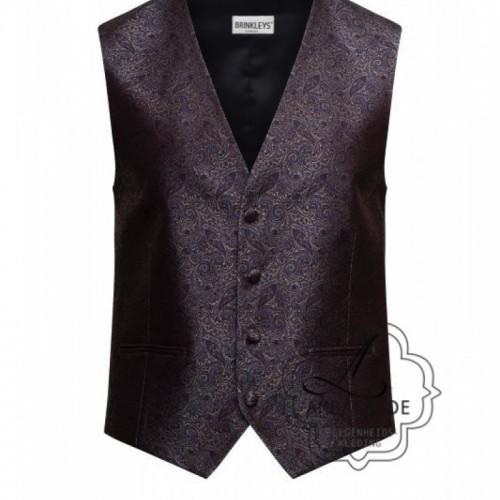 bewerkt gilet vest of waistcoat voor onder een jacquet voor de bruidegom