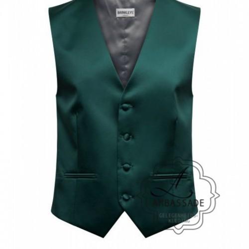 Groen vest gilet of waistcoat voor de bruidegom op de bruiloft