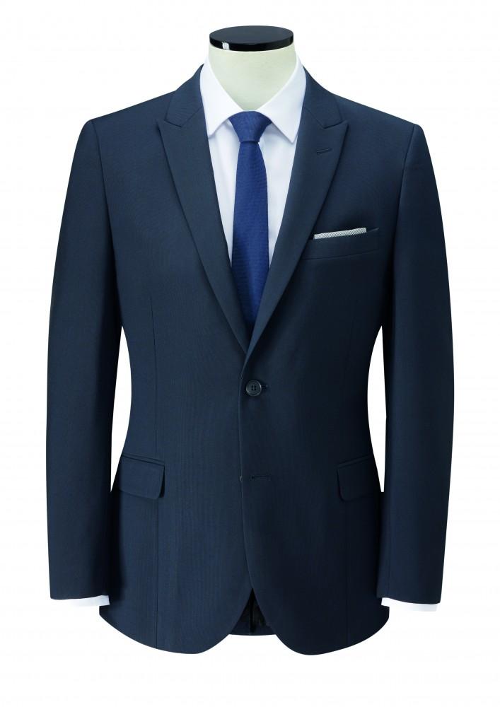Huur kostuum donker blauw