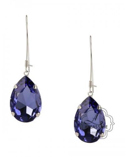 Otazu Eva oorbellen blauw