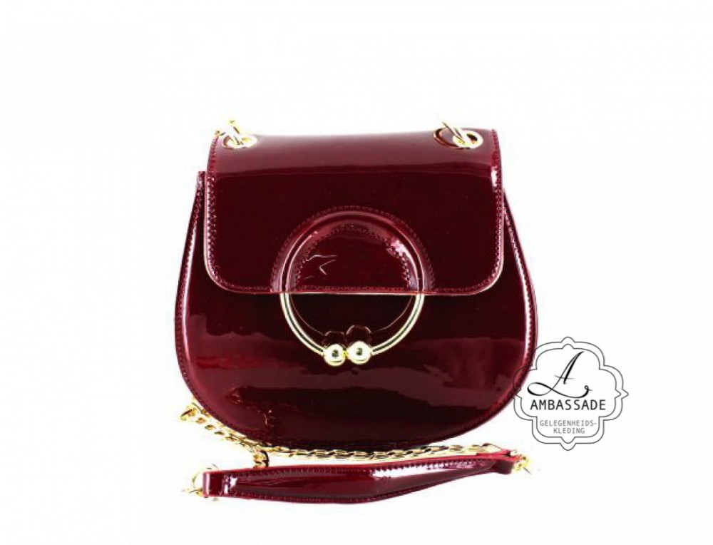 Ronde Clutch bordeaux