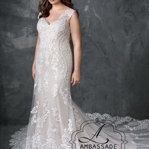 fantastische bruidsjurk met veel kant