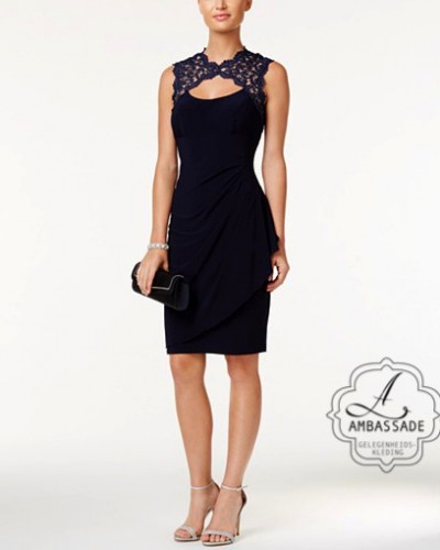 Expose cocktailjurk XS4575 Black