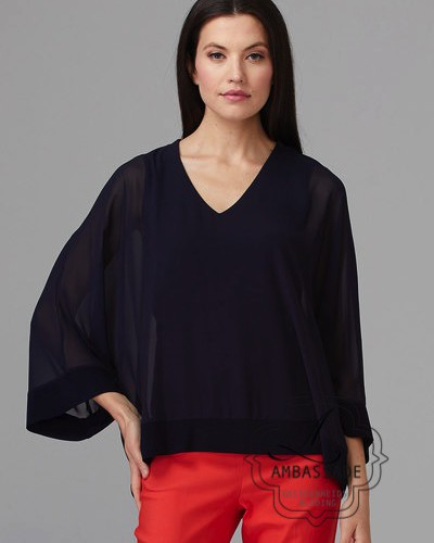 Joseph Ribkoff top 201084 Navy
