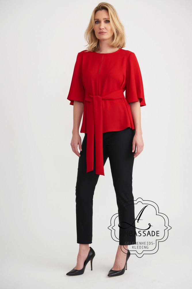 Joseph Ribkoff top red 203616