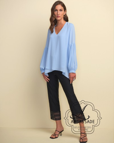 Joseph Ribkoff 211166 top light bleu
