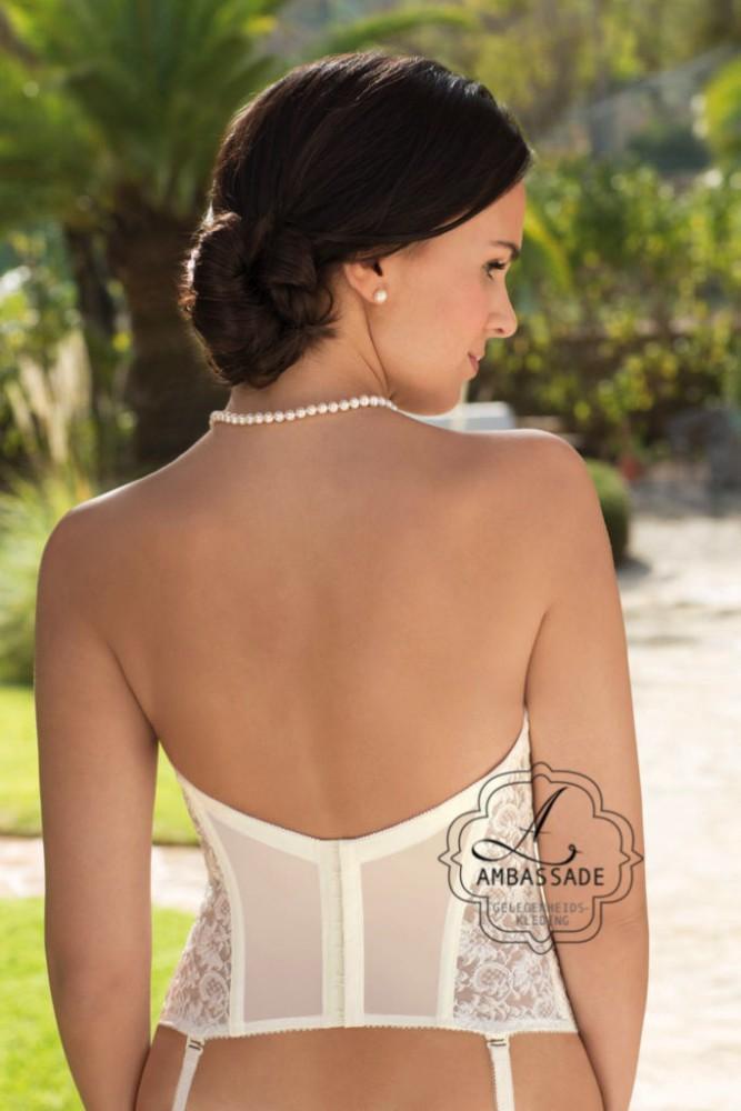 Bruidstorselet met lage rug