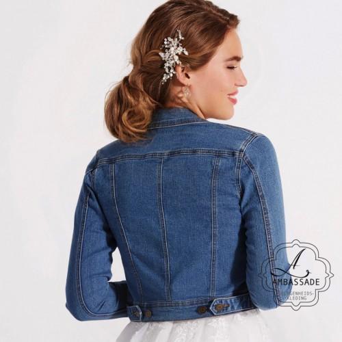 jeansjacket voor mij je bruidsjurk