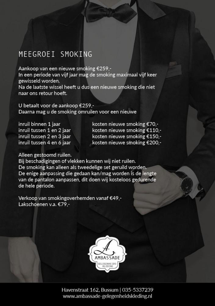 Meegroei smoking
