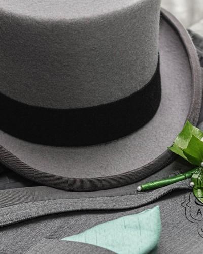 Cilinderhoed of hoge hoed
